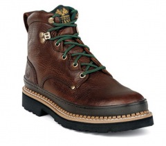 """Georgia Boot Mens 6"""" Boot G6274 Brown Boots"""