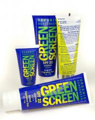 Green Screen® Organic Sunscreen SPF 22 Tinted -
