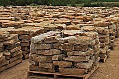 Layered Sedimentary Sandstone