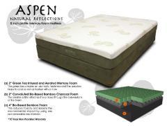 SilverRest Mattress Company Aspen Memory Foam