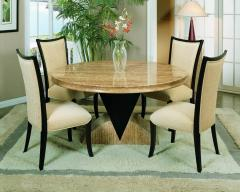 Armen Living 253 Alexis Round Dining Table