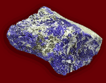Lapis lazuli magnificent blue stone