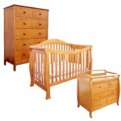 AFG Furniture 3pc Crib Combo