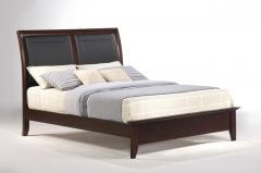 Bedroom Furniture Arlington/Aurora Leather Panel
