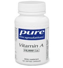 Vitamin A 120 veggie capsules 10000 i.u.
