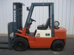 Nissan JP50 LPG Forklift