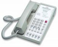 Single-line guestroom telephone