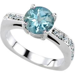 Alluring Solitaire Engagement Ring