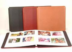 Post Bound Expandable Leather Photo Album