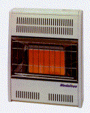 MEDALLION Infra Red heaters - Natural Gas and