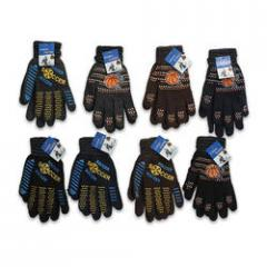 Polyester Adult Gloves w/Sports Design