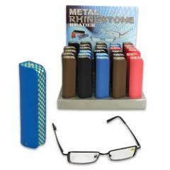 Reading Glasses w/Rhinestone in Case