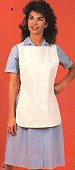 Two-ply short apron