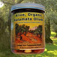 Alive, Organic Kalamata Olives - Grown by