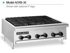 AERB Economy Radiant Char-Broilers