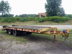 Flatbed Trailers 1994 TRAIL KING TK20