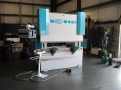 7' x 90 Ton, Hydraulic, Down Acting, 3 Axis CNC,