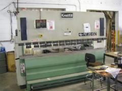 10' x 110 Ton, Hydraulic, Up-Acting, Automec CNC 1000 3 Axis Controls