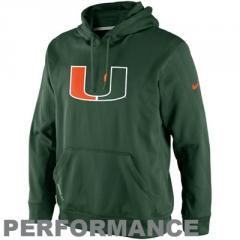 Nike Miami Hurricanes KO Performance Hoodie -