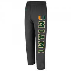 Miami Hurricanes Automatic Fleece Pants - Charcoal
