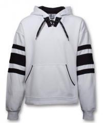 SA102 Striped Lace Hood