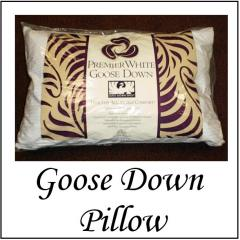 Premium Goose Down Pillow