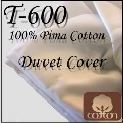 T-600 Cotton Duvet Cover
