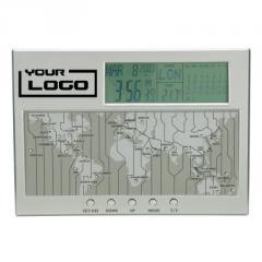 EC1102: Vaghi World Time Clock, Calendar &