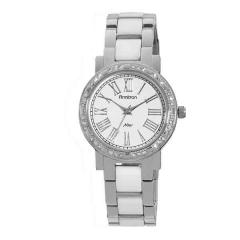 Ladies' White Glossy Dial Watch