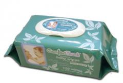 Comfort Touch Baby Wipes with Flip-Top Lid