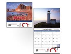 American Scenic Wall Calendar