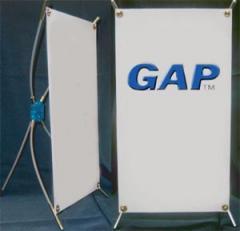 Mini Banner Stand