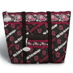 Ohio State Buckeyes Quilted Tote Bag