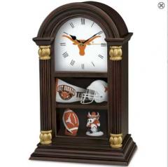 Texas Longhorns Clock