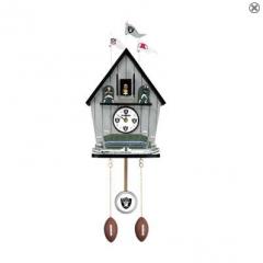 Oakland Raider Cuckoo Clock