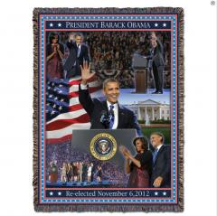 President Barack Obama Re-Election Throw