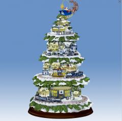 Cowboys Village Christmas Tree