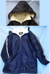 Adults Heavy-weight Sherpa Lined Winter Jacket