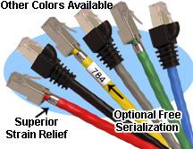 Cat5 Shielded Stranded Crossover Patch Cable