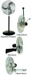 Pedestal, Wall, I-Beam Mount Fans Models - 967