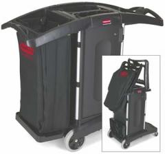 RUBBERMAID COMPACT FOLDING CLEANING CART
