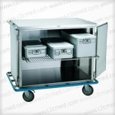 Stainless Steel Case Cart.