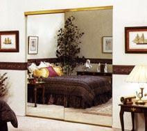 Edgeguard Bifold Mirror Doors