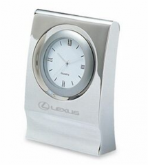 Classically Designed Roman Numeral Round Dial Desk Clock