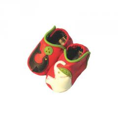 Circus Red Baby Shoes 6-12 Mo.