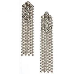 Earrings Nickel Long Dangles