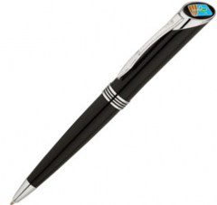 55070 Quill 1000 Series Black Ball Pen