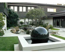 Floating Granite Water feature Sculptures