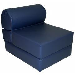 28-Inch Vinyl Jr. Twin Studio Chair Sleeper