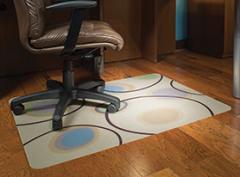 Circle Pattern Hard Floor Chair Mat